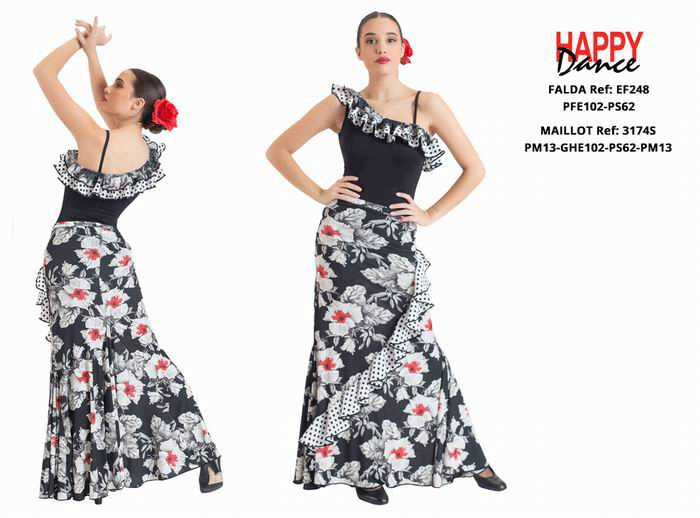 Conjuntos de flamenco para Adulto. Happy Dance. Ref. EF248PFE102PS62-3174SPM13GHE102PS62PM13