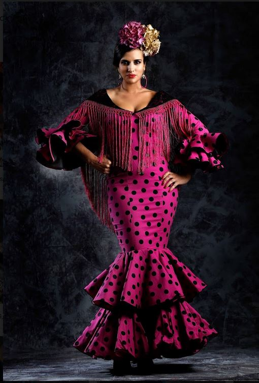 Flamenca Dress. Tango Model. 2019