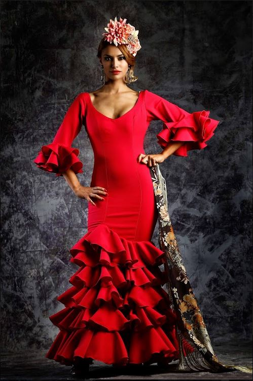 Flamenca Dress. Delicia Model. 2019