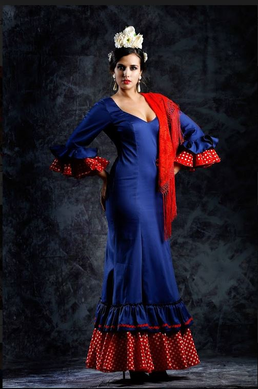 Flamenca Dress Mimosa. 2019