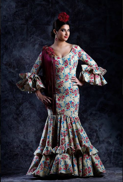 Flamenca Dress. Zarzamora Model. 2019