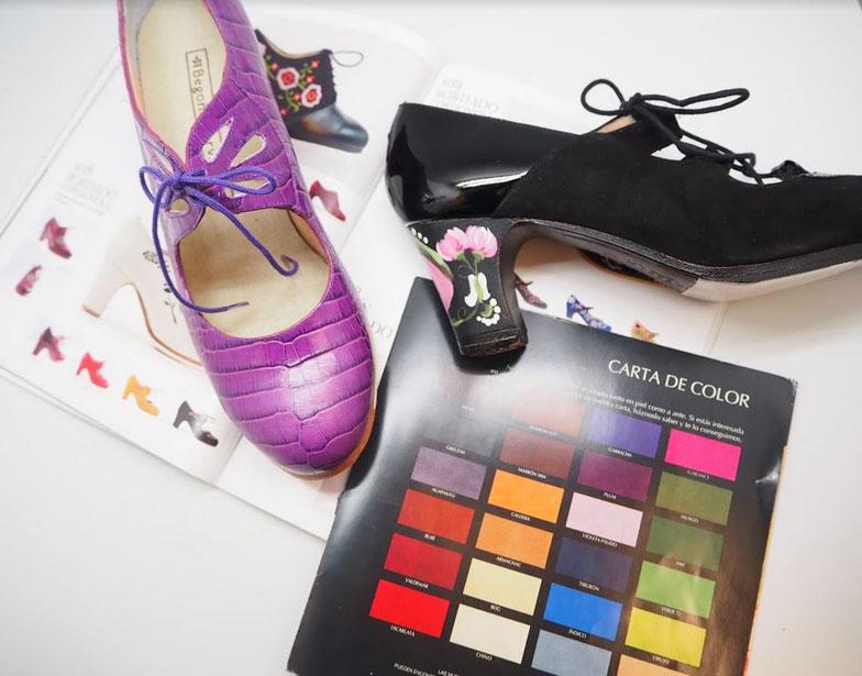 Customize your Begoña Cervera shoes