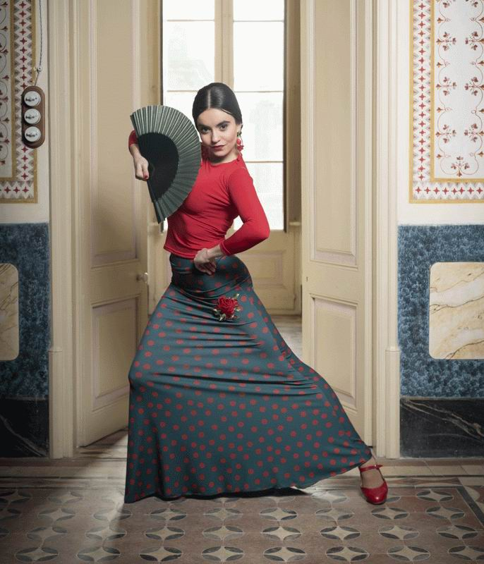 Flamenco Skirt Emosson. Davedans