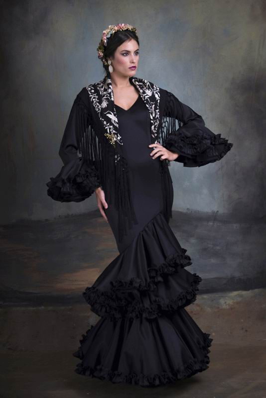 Flamenca Dress Carmin. 2020