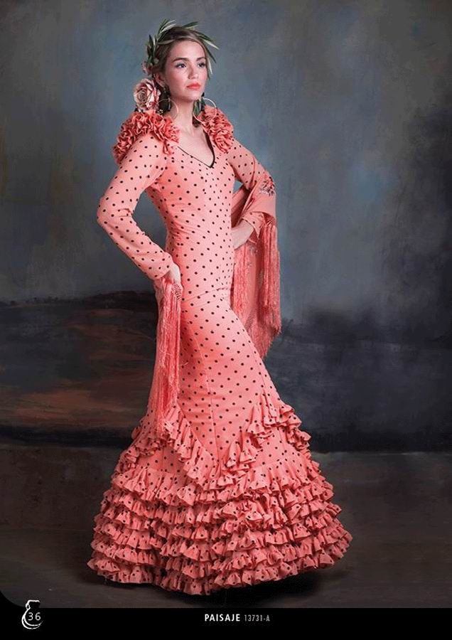 Flamenca Dress Paisaje. 2020