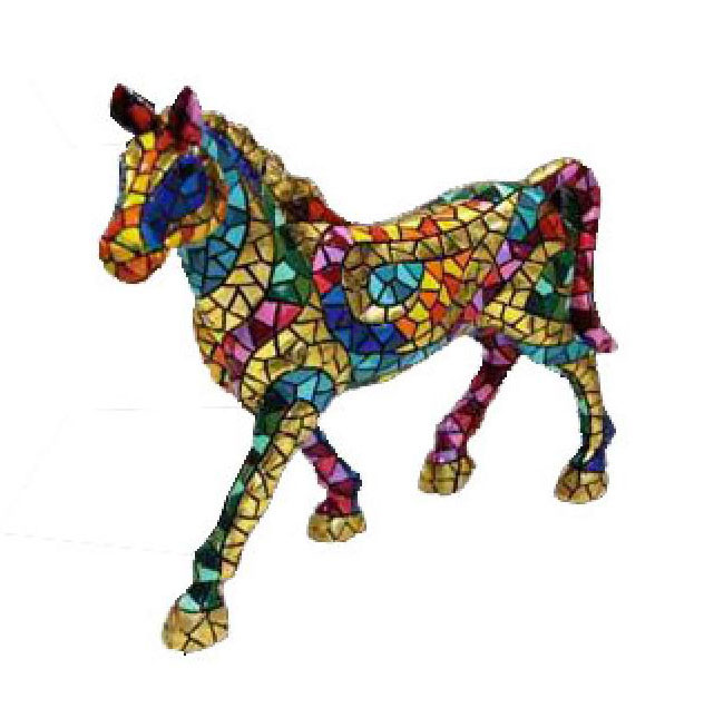 Carnival Collection Horse. Gaudí. 20cm