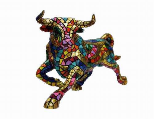 Trencadis Carnival Collection Bull. Gaudí. 60cm