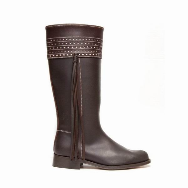 Valverde del Camino Cartujana Leather Boots for Woman