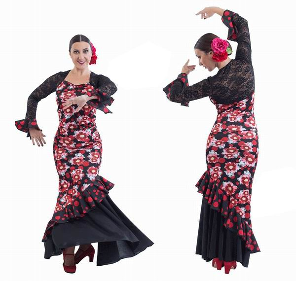 Flamenco Outfit for Women by Happy Dance. EF130-E4734