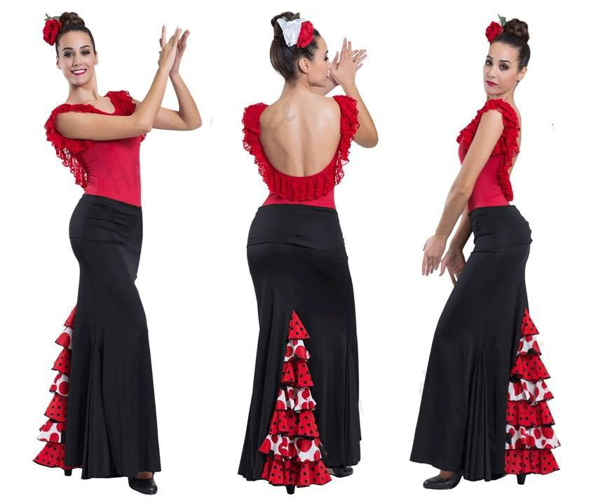 Conjuntos de flamenco para Adulto. Happy Dance.Ref. EF169-3064S
