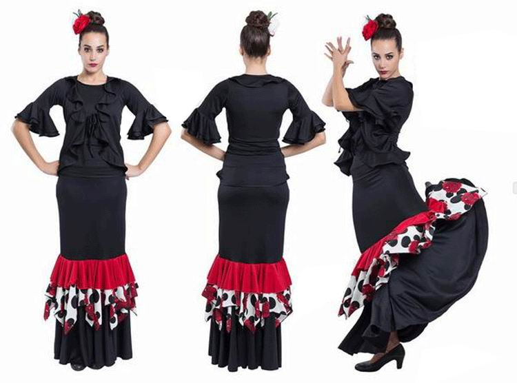 Flamenco Outfit for Women by Happy Dance. Ref. EF195-E4739
