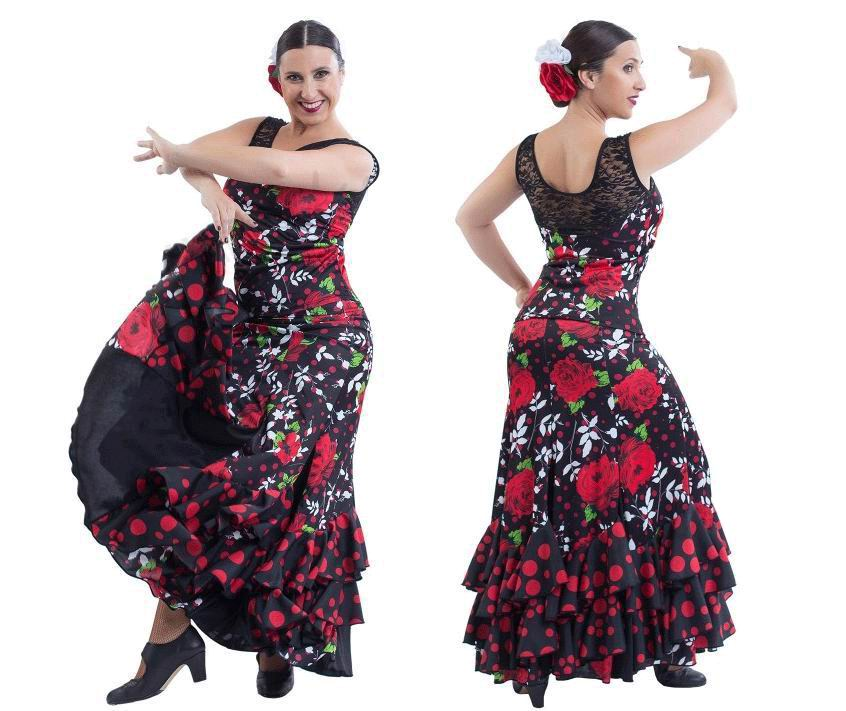 Flamenco Outfit for Women by Happy Dance. Ref. EF198-E4733