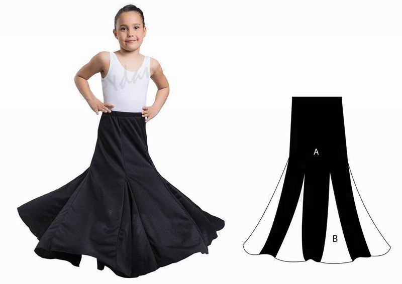 Flamenco Outfit for Girls by Happy Dance. Ref. EF052-1000
