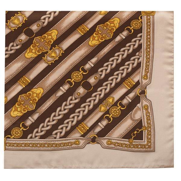 Brown and Beige Sash for Campero Suit. Ref.27