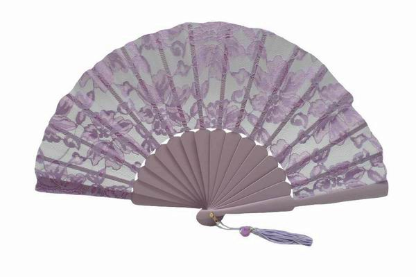 Lilac Lace Ceremony Fan ref. 1385