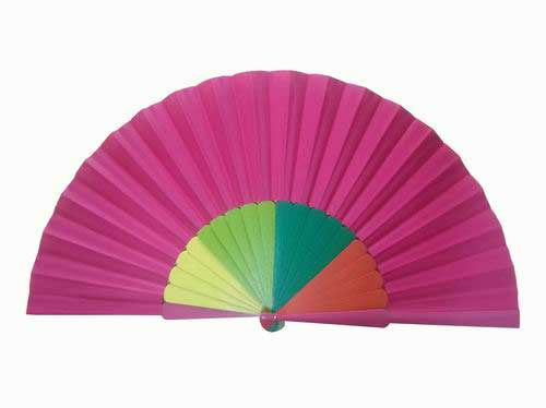 Customized flamenco dance fan
