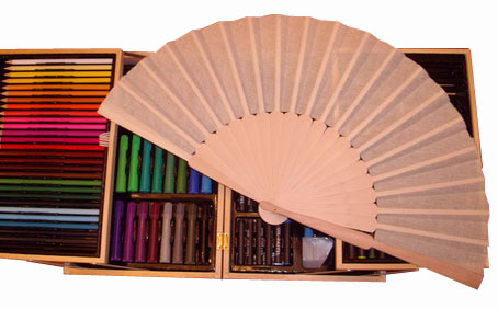Fans for Handicrafts and Decoration