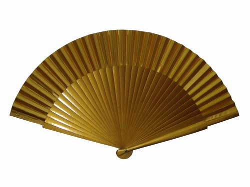 Golden Inexpensive Fan