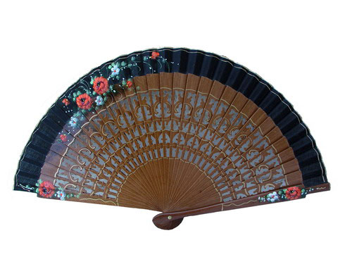 Painted Fan For Flamenco Dance ref. 617