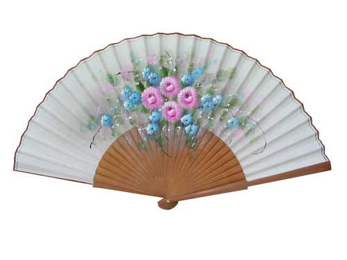 Painted Fan For Flamenco Dance ref.  79