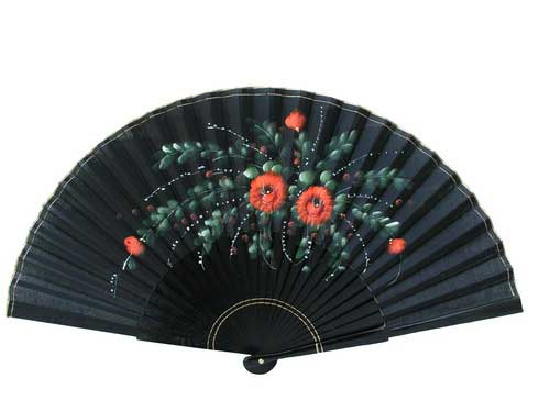 Painted Fan For Flamenco Dance ref. N910