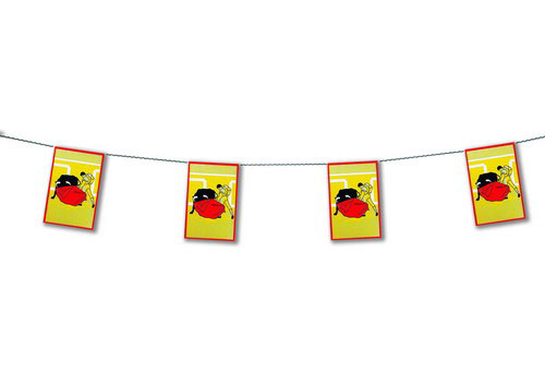 Bullfight Flag Garlands