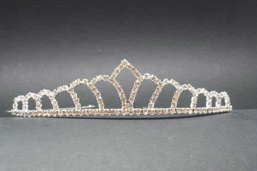 Tiara with strass. ref. 28471