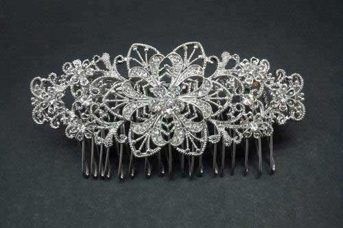 Damask Comb with Flowers Ref. 29678