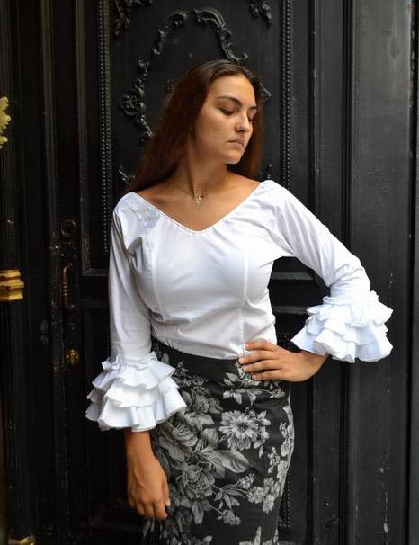 896d1d7ea Blusas de flamenca y Corpiños de Baile - FlamencoExport