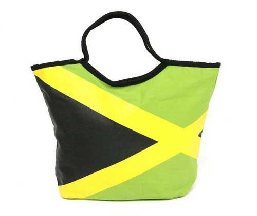 Jamaican flag bag - FlamencoExport