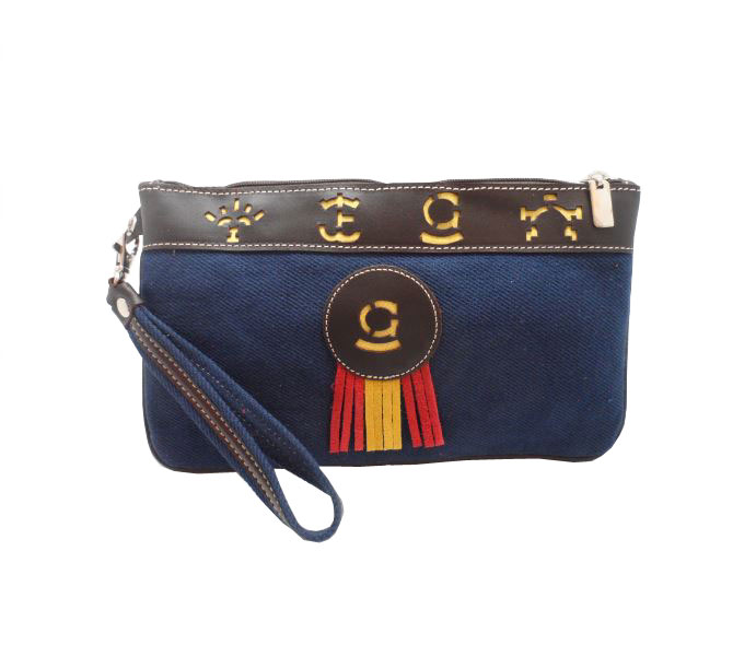 Navy Blue Purse. Mod. Ganaderia