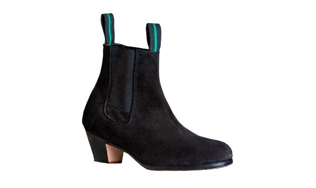 Suede Ankle Boots Without Nails