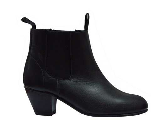 Kid´s Leather Ankle Boots Without Nails