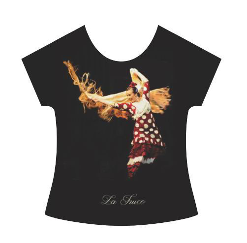 La Truco Flamenco Dancer T-Shirt. Polka Dots dress