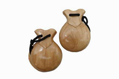 Brown Souvenir Castanets