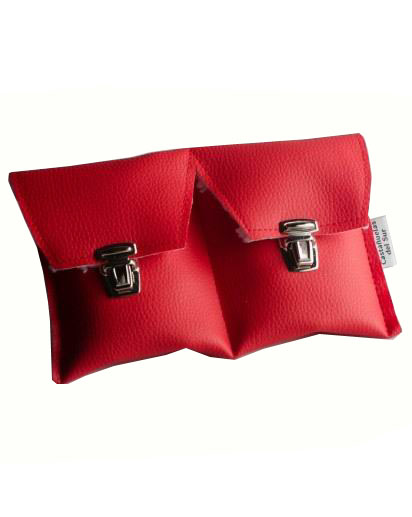 Special Red Case for Flamenco Castanets