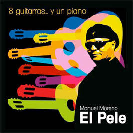8 guitarras… y un piano.(8 guitars… and 1 piano). Manuel Moreno