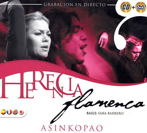 Herencia flamenca asinkopao CD + DVD