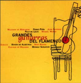CD Grandes guitarras del flamenco