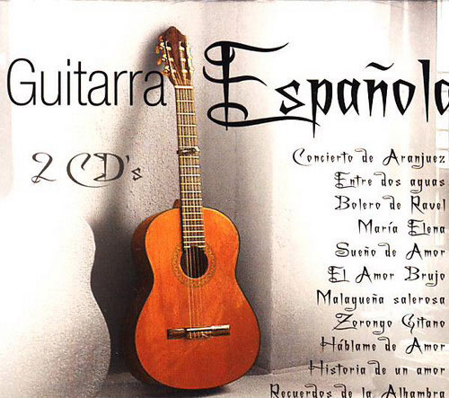 Spanish Guitar 2CD by Juan del Rio