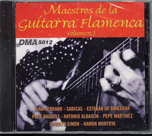 CD Maestros de la Guitarra Flamenca - ボリューム1