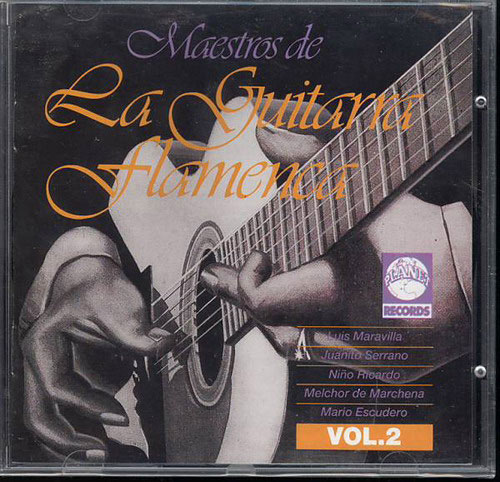 CD Maestros de la Guitarra Flamenca - Vol.2
