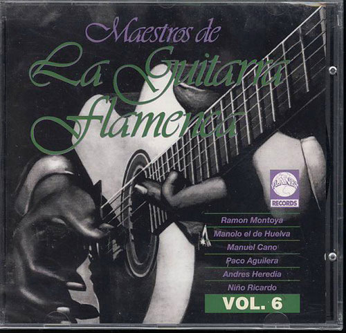 CD Maestro de La Guitarra Flamenca - Vol. 6
