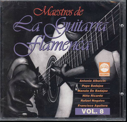CD Maestros de la Guitarra Flamenca - Vol. 8