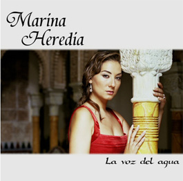 CD La voz del agua - Marina Heredia
