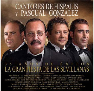 Hispalis singers. The big party of Sevillanas + DVD