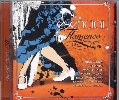 CD Esencial Flamenco Vol. 8 1.CD