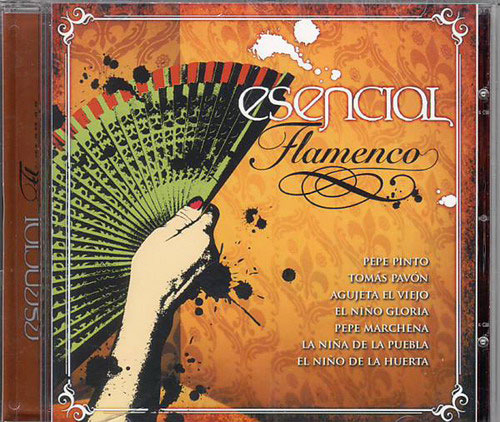 CD Esencial Flamenco Vol. 10 1.CD