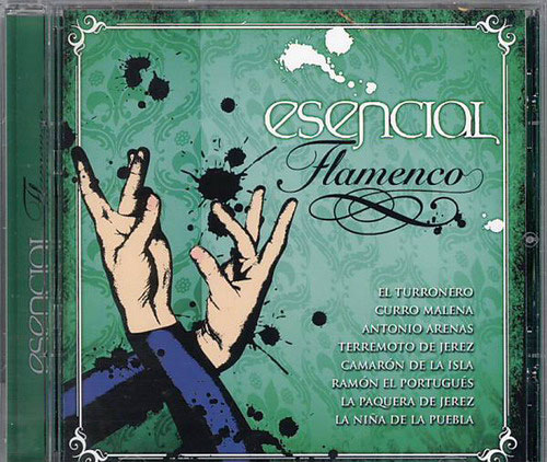 CD Esencial Flamenco Vol. 12 1.CD