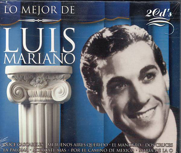 CD2枚組み Luis Mariano. Lo mejor